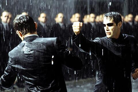 """Matrix Revolutions"""